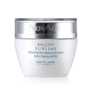 Oriflame Novage Bright Sublime Review day cream