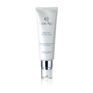 Oriflame Novage Bright Sublime Review novage night cream