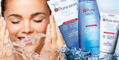 Oriflame Pure Skin Face Wash refreashing product