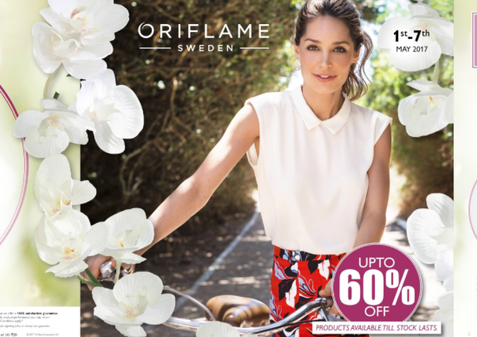 Oriflame May 2017 Flyer