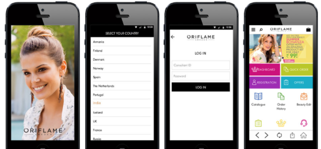 Oriflame Beauty App Download
