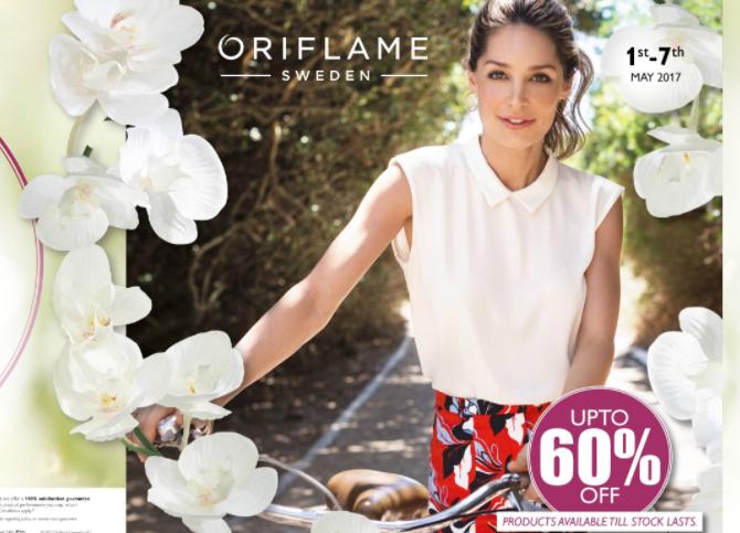 Oriflame Online Flyer