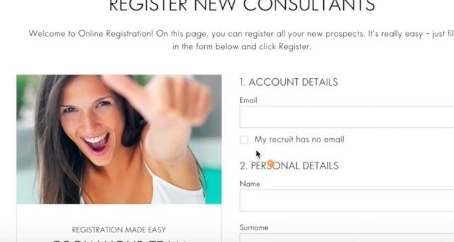 How to Add / Register new Member in Oriflame