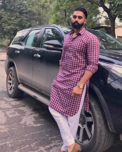 Kurta pajama designs for men - parmish verma in khadi kurta latest pic 2018